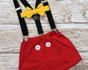 Mouse Birthday Ouifut, Boys Mouse Birthday Outfit, Mouse Cake Smash Outfit, PLEASE READ LISTING