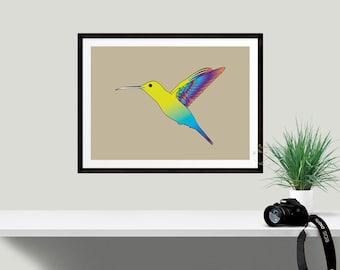 HUMMING BIRD - digital download