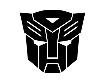 Autobot Transformers Sticker Decal
