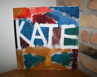 Oil Painting Canvas Art Modern Abstract Art Canvas Wall decor Name tag Sign Logogram Interiors Interior decor