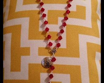 Necklace rosary style