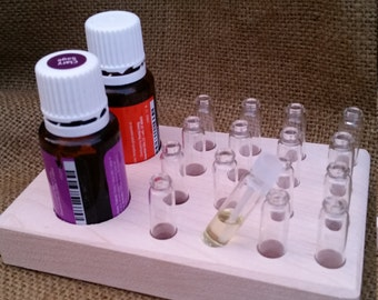 16 Sample Vial filling station for Essential oils or perfumes