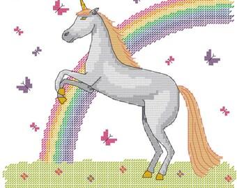 Unicorn and Rainbow
