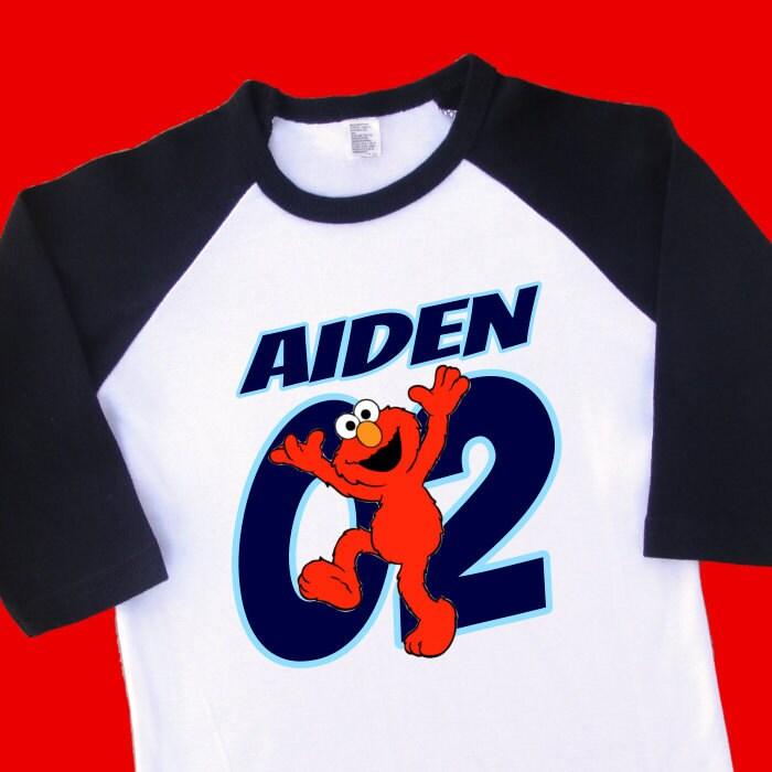 Elmo 2nd Birthday Shirt