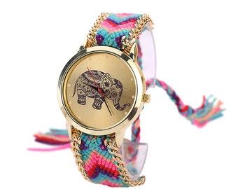 SoulSisters wristwatch Olifant boho fashion