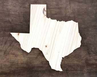 Texas, State of Texas Wood Decor, Rustic Home Decor, Wedding Housewarming Gift State, Other Sizes Available