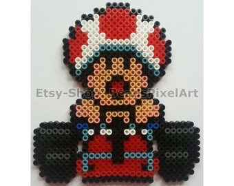 super mario kart yoshi im kart aus b gelperlen perler. Black Bedroom Furniture Sets. Home Design Ideas