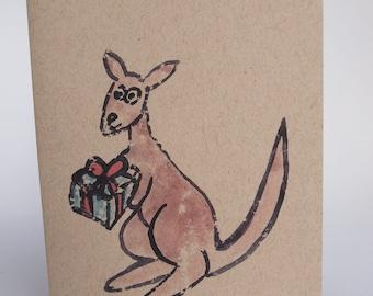 Greeting Card - Roo Gift
