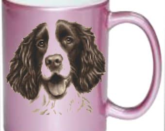 Springer Spaniel Dog, Mugs Printed