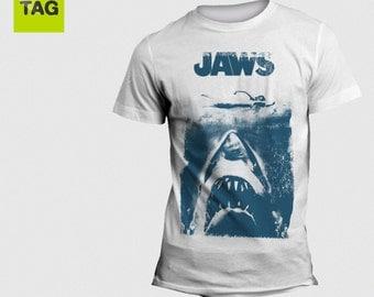 T-shirt JAWS lo Squalo MOVIE Film Cult Vintage