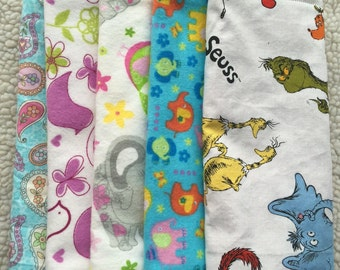 Burp Cloth- Individual