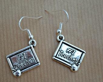 Teacher Earrings, Teacher, gifts for teachers, jewelry for teachers