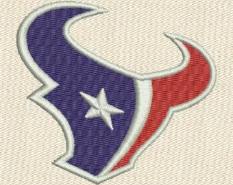 Houston Texans Machine Embroidery Design