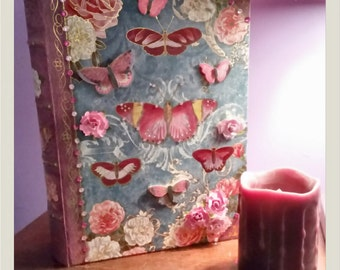 Butterfly keepsake book