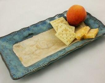 Seashell Rectangular serving dish