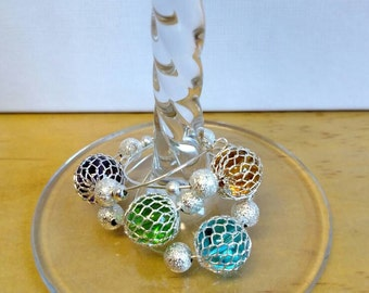 Wine charms set of 4