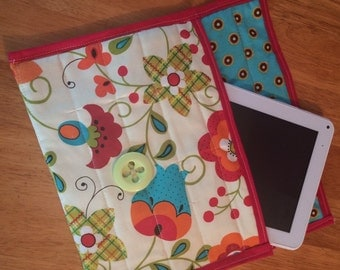 Ipad tablet e-reader quilted covers