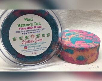 Mad Hatter's Tea 4 oz bath bomb