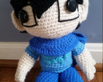 Homestuck John Egbert Crochet Doll