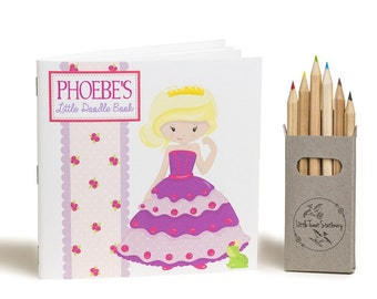 Personalised Princess Doodle Book