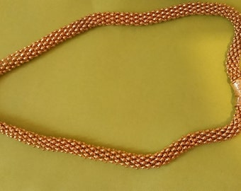 Vintage Gold Tone Chain with Magnetic Clasp