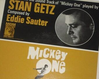 Stan Getz Vinyl Record, Mickey One soundtrack, vintage vinyl record album