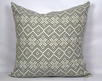 Grey geometric throw pillow case 20x20 decorative grey pillow cover for bed 18x18 pillow cover 24x24 pillow 16x16 pillow sofa cushion cover