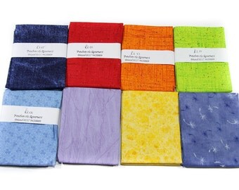 8 x Vintage 1 fat Quarter Fabric 100% cotton mixed Designs Micheal Muller Fabric LLC