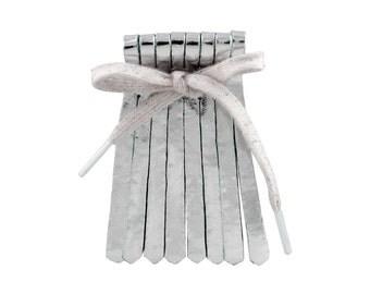 Shoe fringes Silver Mint