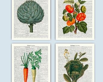 Kitchen Art, Vegetables Art, Kitchen Decor, Kitchen Wall Prints, Kitchen Wall Art, Kitchen Poster, Home Decor Art, Kitchen Artwork