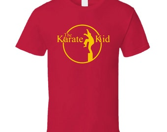 Karate Kid Retro T Shirt