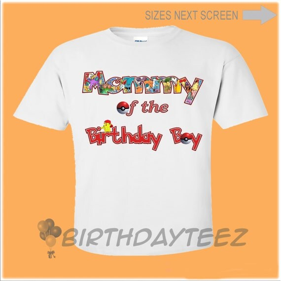 dc4248f76 Pokeman Birthday Shirt, Family Birthday Shirts, Matching Shirt, Sibling  Shirt, Sibling Shirts, Pokemon Birthday I use a graphic program for  drawings and ...