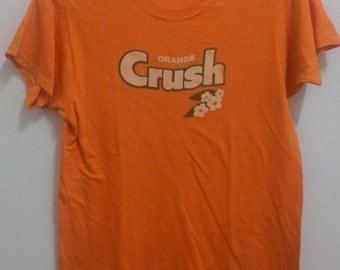 Vintage 80s Orange Crush