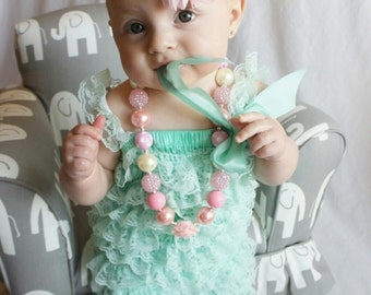 Soft Baby Girl Lace Posh Petti Ruffle Rompers tutu With strap 0-18 months