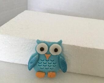 Edible Owl Cupcake topper 12