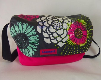 "Shoulder bag with bright colours, ""Flower"""