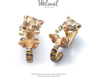 African baby tiger ring