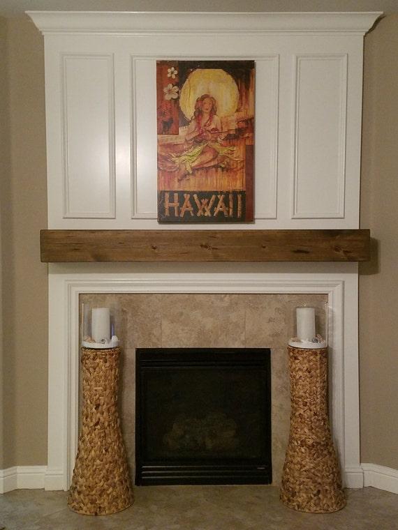 fireplace rustic mantel beam 7 height. Black Bedroom Furniture Sets. Home Design Ideas