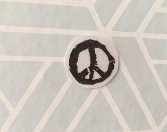 3 Peace Sign Stickers