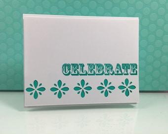 Handmade Card - Congrats