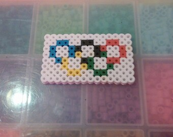 Perler Bead Olympic Rings Keychain/Magnet/Party Favor