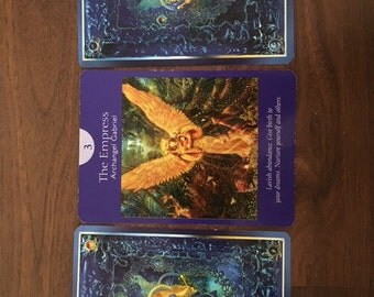 Three Card Angel Card Reading
