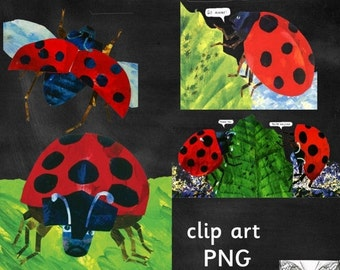 50% OFF The Grouchy Ladybug Clipart - Eric Carle