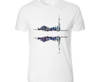 Cityscape abstract t-shirt