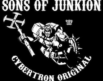 Sons of Junkion - Men's Unisex T-Shirt - Anime Pop Parody Clothing