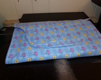 Baby Boy changing pad clutch set