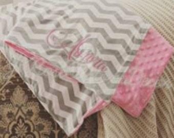 Custom Minky Baby Blankets