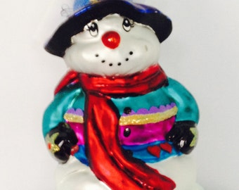 Vintage Christopher Radko Ornament Warm and Wooly