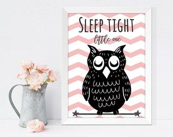 Owl nursery wall art, wall prints, wall decor, nursery room decor, baby room wall, cute wall art,animal nursery, kid's room, children room