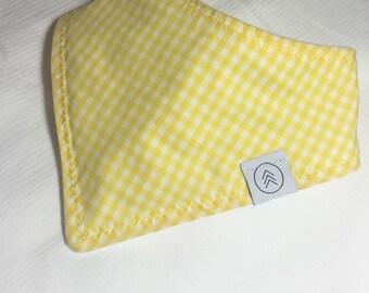 Sunny Yellow Bibdana
